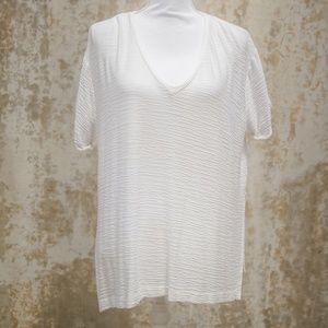 Zara/Trafaluc//Fall Winter Collection White V-Neck